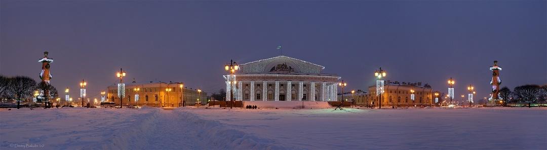 Новый год и Рождество в Санкт-Петербурге.
